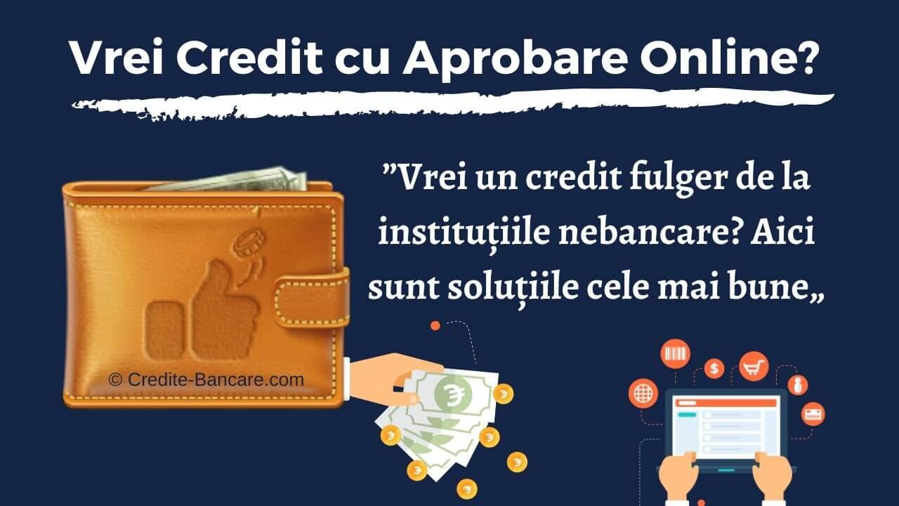 Credit cu Aprobare Online